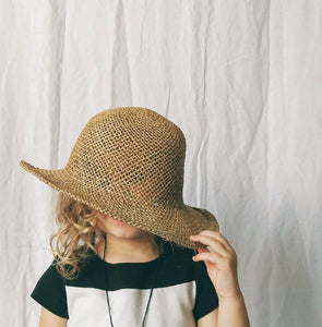 Child's Seagrass Woven Hat
