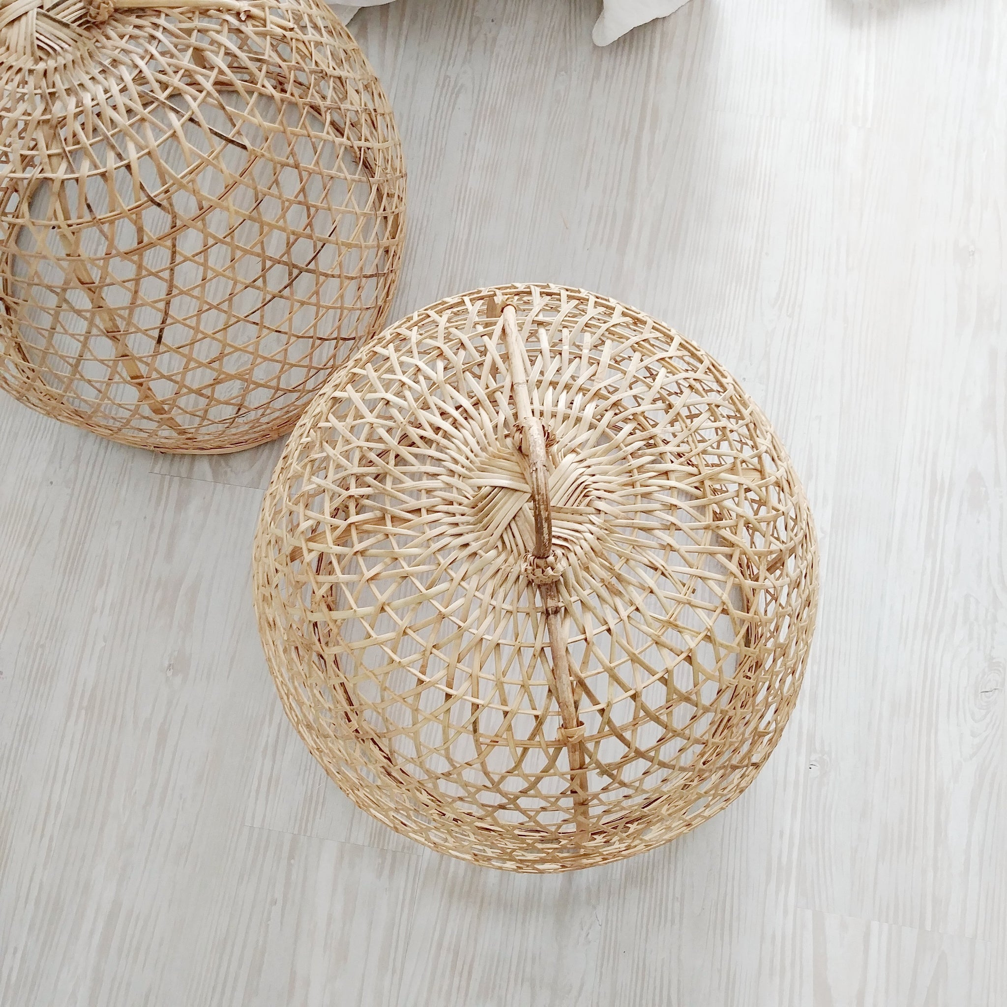 Indonesian Woven Chicken Baskets