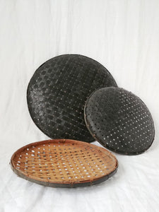 Bamboo Woven Trays/ Wall Hangings