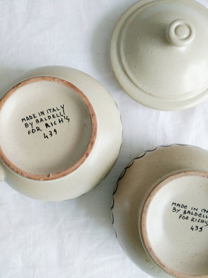 Sugar and Cream Ceramic Set