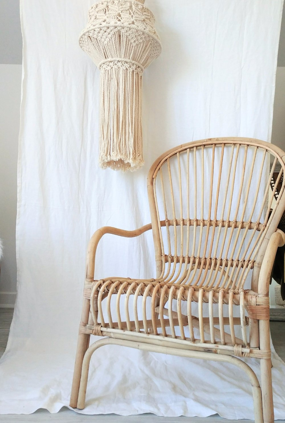 Indonesian Natural Rattan Chair