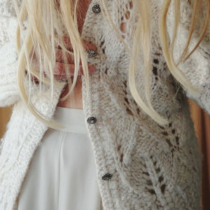 Handmade Wool Blend Sweater