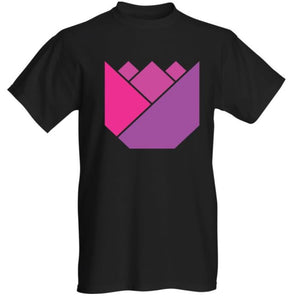 Men's Standard Black Tulip T-Shirt