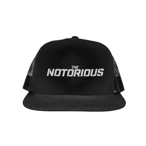 The Notorious Black Trucker Hat