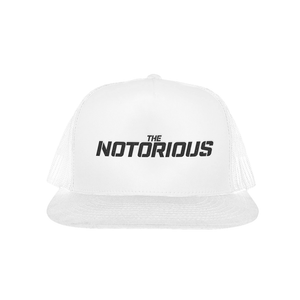 The Notorious White Trucker Hat
