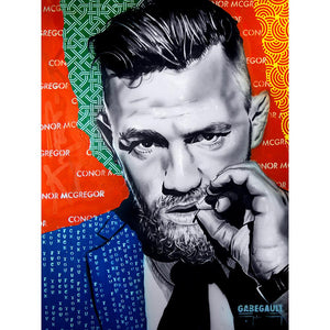 Artist Select Conor McGregor Pop Art (Framed)