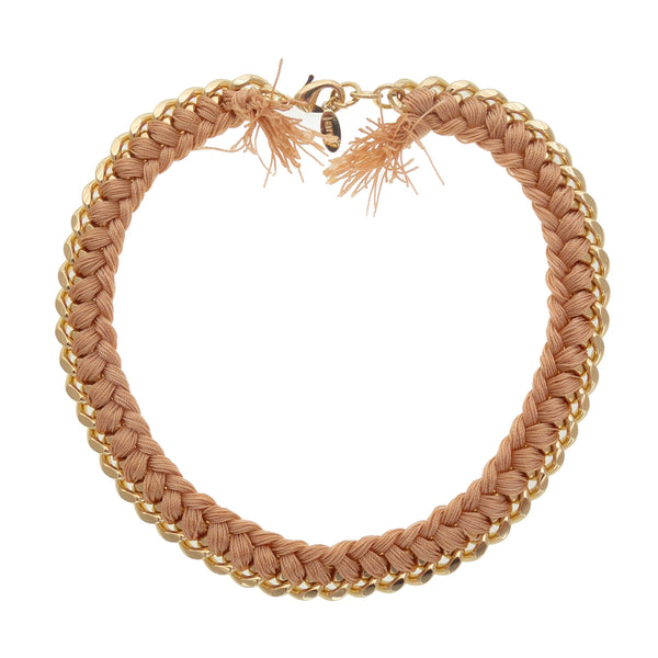 Peach Estelle Choker