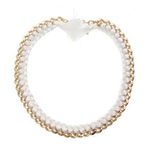 White Estelle Choker