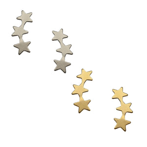 Triple Star Ear Climbers