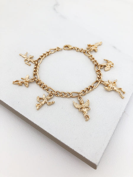 Guardian Angel Charm Bracelet