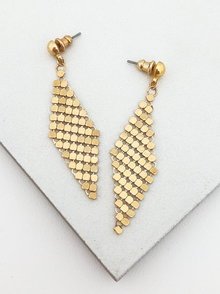 Chainmail Drop Earrings