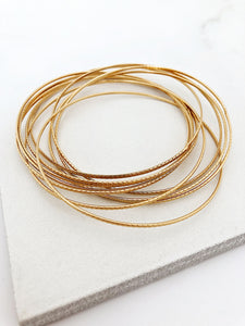 Bond Bangle Set
