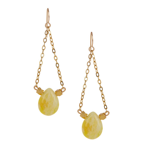 Lemon Jade Chandeliers