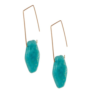 Amazonite Fish Hooks
