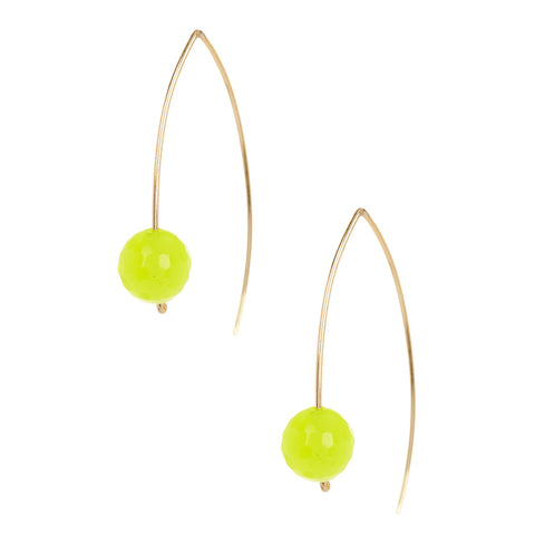 Neon Yellow Fish Hooks