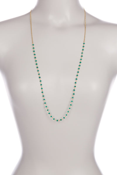 Green Onyx Layering Necklace