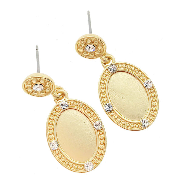 Mirror Drop Earrings