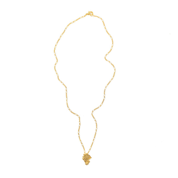 Gold Nugget Necklace