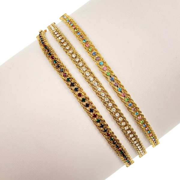 Crystalized Rhinestone Bracelet