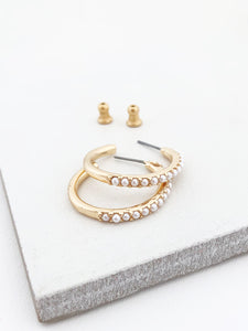 Pearlized Hoops