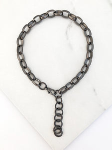Black Lynx Necklace