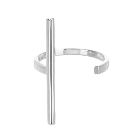Sterling Silver Barre Ring