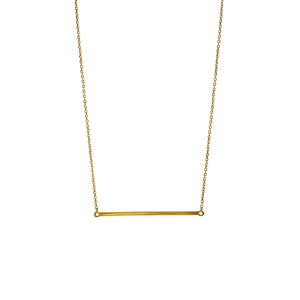 Gold Vermeil Barre Necklace