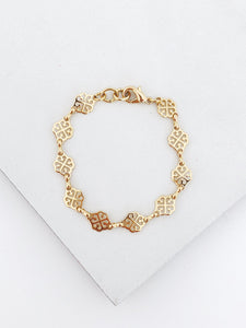 Goldfill Filigree Bracelet
