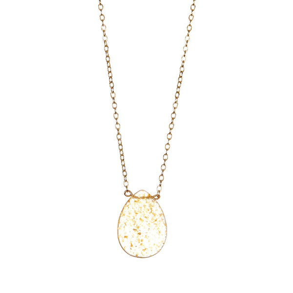 Gold Flake Necklace
