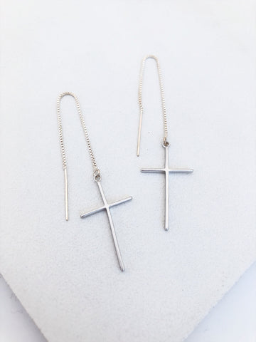 Silver Cross Threaders