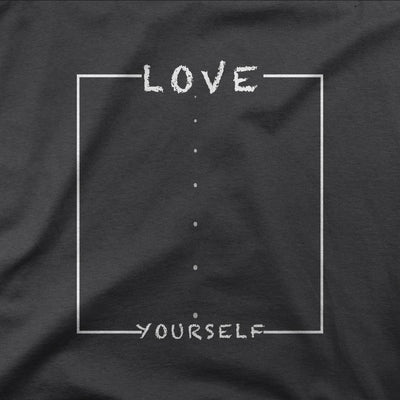 T-Shirt - Love Yourself White Lettering | T-shirt