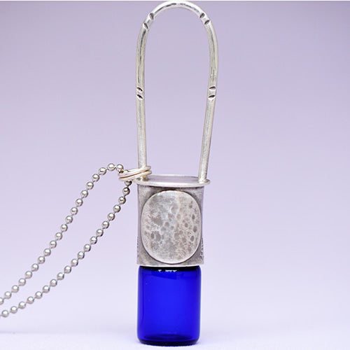 Essential Oil Rollerball  Necklace - Full Moon