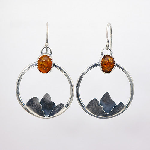 "Baltic Amber ""Ain't No Mountain High Enough"" Earrings"