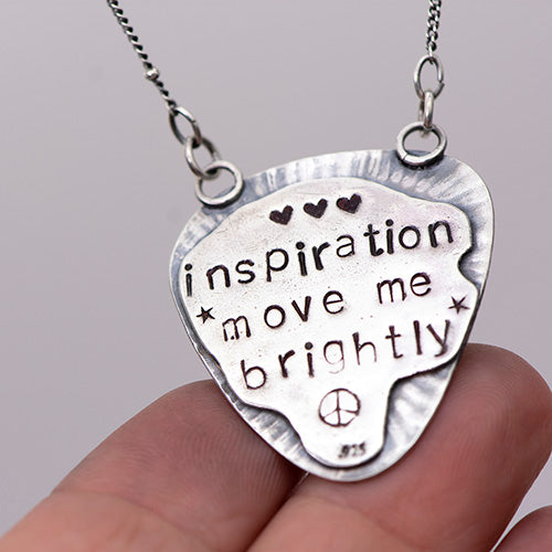 Inspiration Move Me Brightly Sterling Silver & Sonoran Gold Necklace