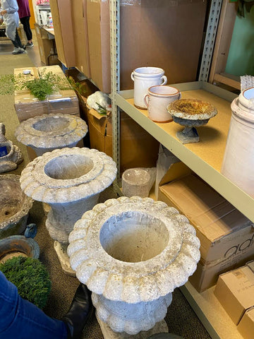 Vintage and antique planters and vases