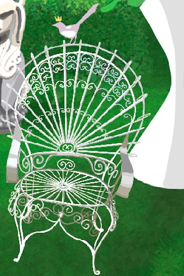 Vintage Wirework Peacock Chairs Chairs