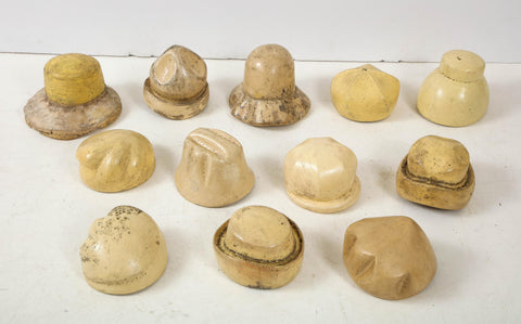 Set of 12 hat Molds