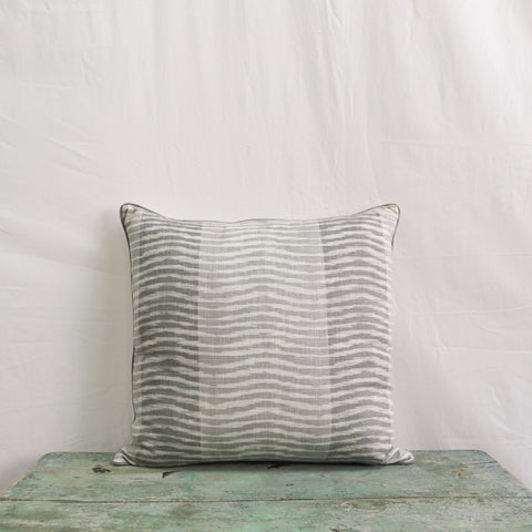 Wavelet Pillow in Grey