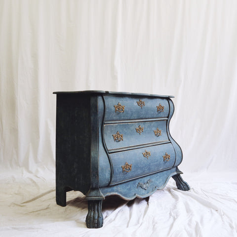 Blue Dutch Bombay Chest