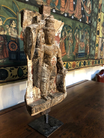 Indian Carving from Temple Wall -18th Century