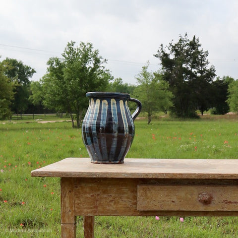 RT Contemporary Blue and White Jug