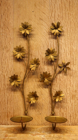 RT Daisy Wall Flower Sconces