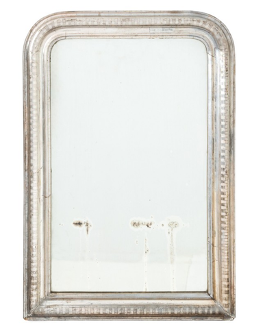 Antique 19th Century Silver Gilt Louis Phillipe Mirror