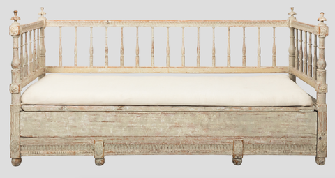 Gustavian Painted Sofa