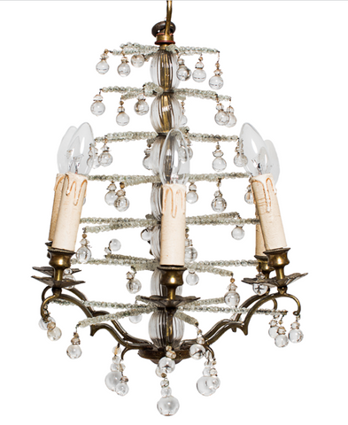 Antique Christmas Tree Chandelier Swedish chandelier
