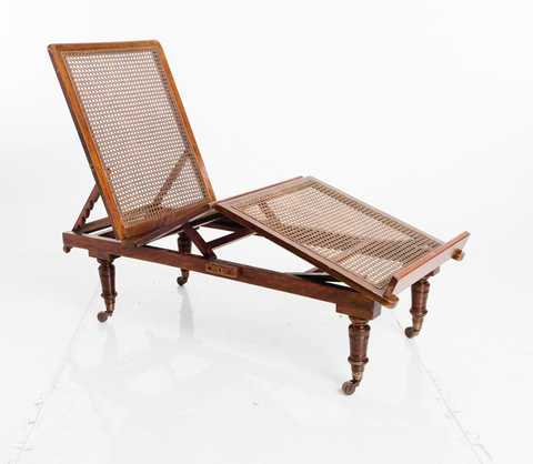 Conservatory Chaise Lounges, Pair
