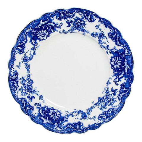 FLOW BLUE DINNER SET