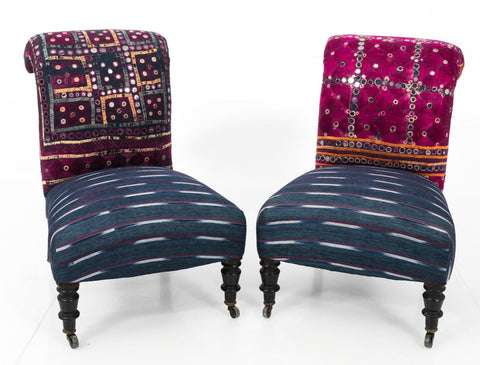 Refurbished Slipper Chairs
