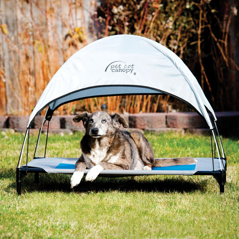 Bio Bubble Pet Food Bins and Scoop - Dog Ultimate ... & Ku0026H Pet Products Pet Cot Canopy Large Gray Bed u2013 Dog Ultimate