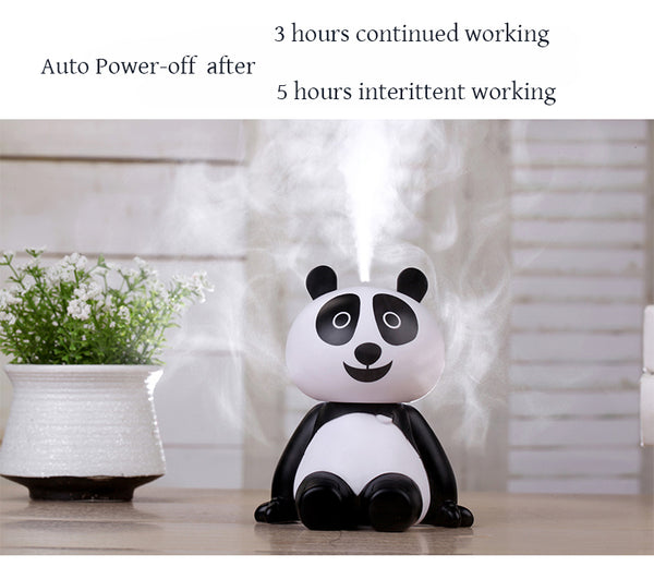 """Super Cute Panda"" Ultrasonic Air Humidifier - Go Jingle Bells"